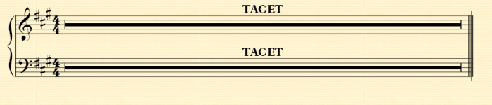 Tacet_Sheetmusic