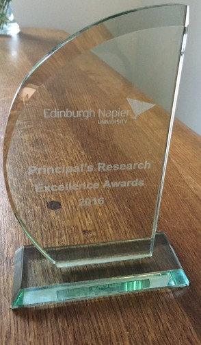 Principals research excellence award
